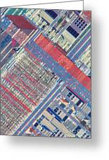 Surface Of Integrated Chip Greeting Card