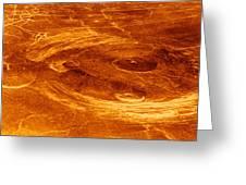 Surface Of Venus Greeting Card