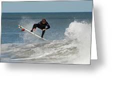 Surfing 399 Greeting Card by Joyce StJames