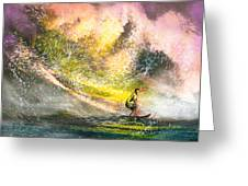 Surfscape 02 Greeting Card
