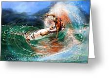 Surfscape 03 Greeting Card