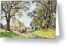 Surrey Landscape  Greeting Card