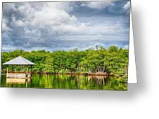 Surrounded By Water Greeting Card