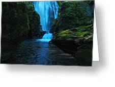 Susan Creek Falls Greeting Card