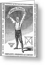 Suspenders, 1888 Greeting Card by Granger