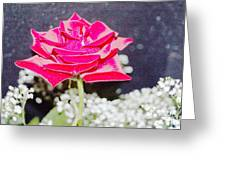 Suzannes Fantasy Rose Greeting Card