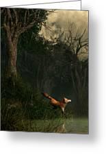 Swamp Fox Greeting Card