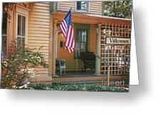 Swedish American Home Greeting Card