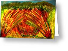 Sweeping Fields Greeting Card