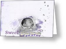 Sweet Dreams Greeting Card by Joanne Kocwin