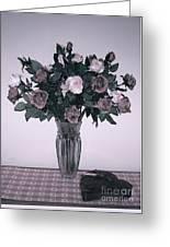 Sweet Valentine Bouquet  Greeting Card
