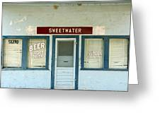 Sweetwater Store Greeting Card