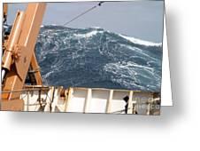 Swells Atlantic Ocean Greeting Card by Science Source