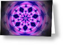 Swirl Of The Pinwheel Greeting Card by Myrna Migala