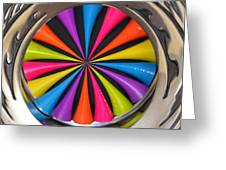 Swirled Color Greeting Card