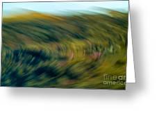 Swirling Field Greeting Card