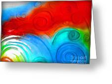 Swirls Greeting Card