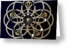 Swirly Brooch Greeting Card