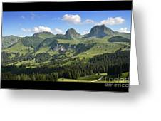 Swiss View 1 Greeting Card