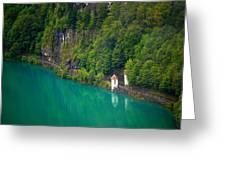 Switzerland - Lake Greeting Card