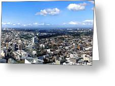 Sydney - Aerial View Panorama Greeting Card