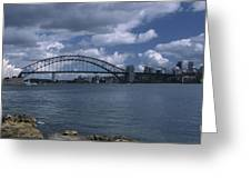 Sydney Harbor Australia Greeting Card