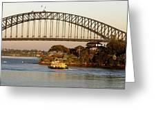Sydney Harbour Bridge At Dawn Greeting Card