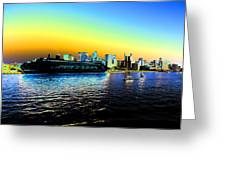 Sydney In Color Greeting Card