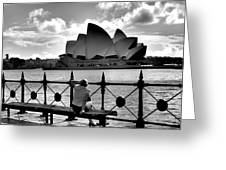 Sydney Love Affair Greeting Card
