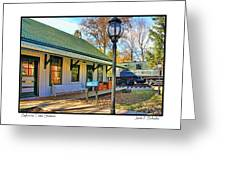Sylvania Train Station Greeting Card