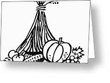 Symbol: Thanksgiving Greeting Card