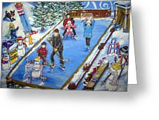 Symes Rink Greeting Card