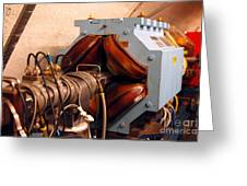 Synchrotron Alignment Magnet Greeting Card