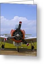 T-28 Nose Greeting Card