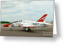 T-45 Goeshawk 4 Greeting Card