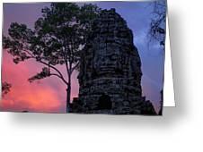 Ta Phrom Greeting Card