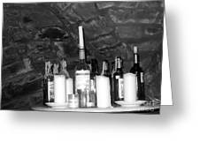 Table Of Spirits Greeting Card