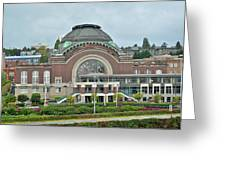 Tacoma Court House Greeting Card