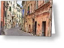Taggia In Liguria Greeting Card