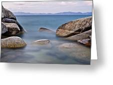 Tahoe Rocks Greeting Card