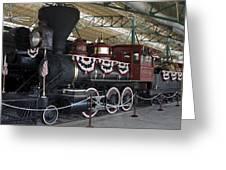 Tahoe Steam Locomotive Greeting Card