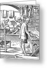 Tailors, 16th Century Greeting Card