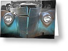 Tainted Hot Rod Greeting Card