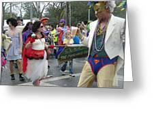 Take Me To The Mardi Gras Greeting Card