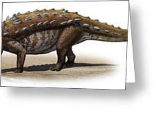 Talarurus Plicatospineus, A Prehistoric Greeting Card