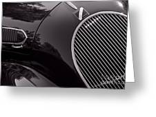 Talbot Lago Greeting Card