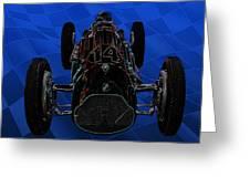 Talbot Lago T26c Body 110054 Greeting Card