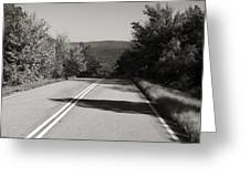 Talimena Roads I Greeting Card