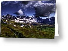 Talkeetna Mountains In Summer Greeting Card