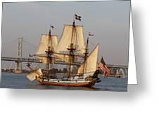 Tall Ship Four Greeting Card